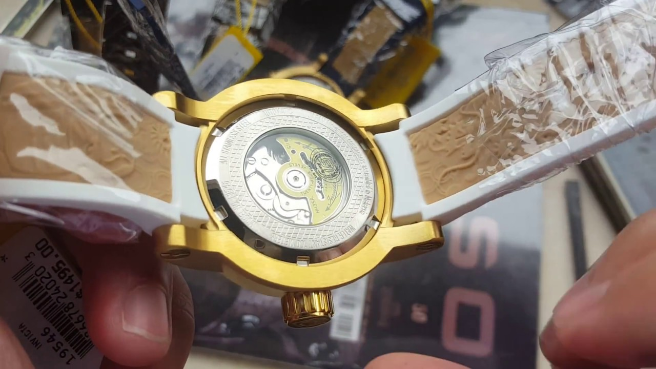 7a530e53adf Relógio invicta yakuza original vs replica ref 18215 19546 12790 18181 não  seja enganado