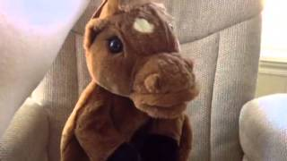 Talking Singing Animatronic Horse Backpack by Somersault