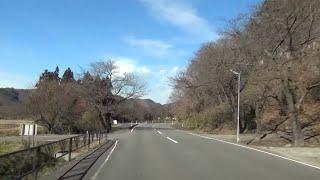 福島県道357号 01 岩根日和田線 日和田→岩根 車載