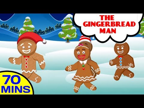 The Gingerbread Man | Nursery Rhyme Collection | Baby Hazel Nursery Rhymes