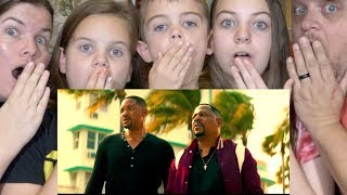 BAD BOYS FOR LIFE REACTION