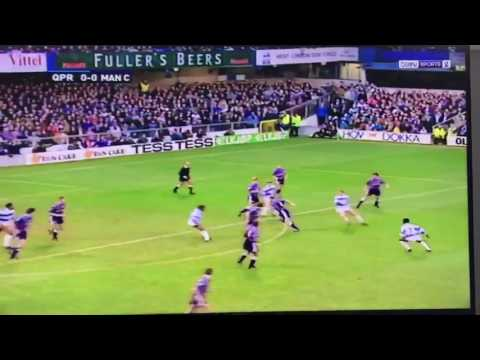 Worst 20 seconds of football - QPR vs Man City 1993