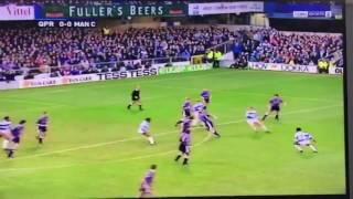 Worst 20 seconds of football - QPR vs Man City 1993