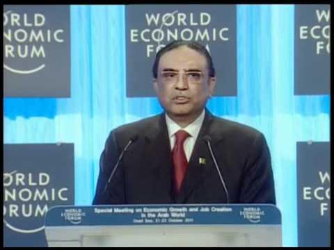 Jordan 2011-A Conversation with Asif Ali Zardari President of Pakistan