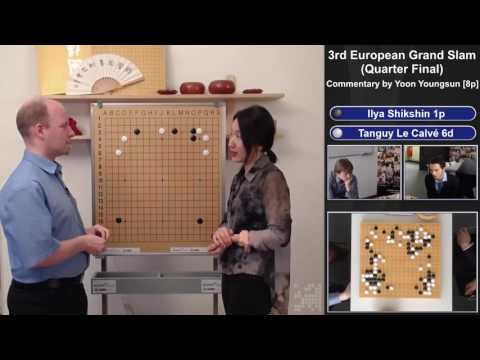 Go Grand Slam 2017, Quarter Final - Commentary by Yoon Youngsun[8p] - Shikshin[1p] VS Le Calvé[6d]