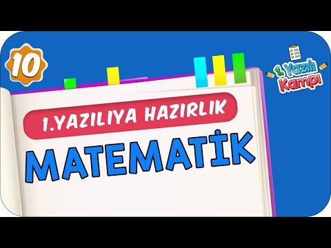 10.Sınıf Matematik | 1.Dönem 1.Yazılıya Hazırlık