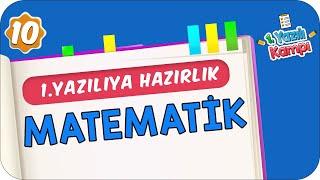 10.Sınıf Matematik  1.Dönem 1.Yazılıya Hazırlık