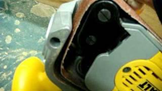 Dewalt Dw433k Belt Sander.