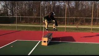 Blind skateboarder Dan Mancina skates better than you. thumbnail