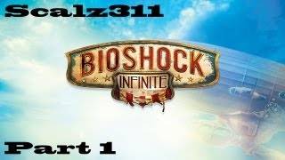 Bioshock Infinite 1999 Mode 100% Walkthrough Playthrough - Part 1