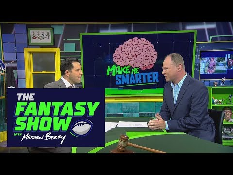 Make me smarter: Sleeper players to target in 2017   The Fantasy Show with Matthew Berry   ESPN