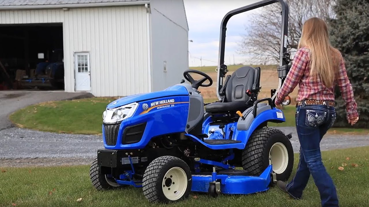 Wonderful New Holland Workmaster™ 25S Subcompact Tractor Good Looking