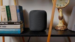 Обзор колонки Apple HomePod