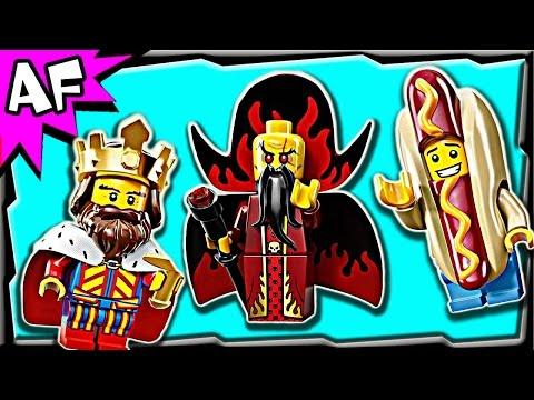 Lego Minifigures Series 13 set 71008 Stop Motion Review