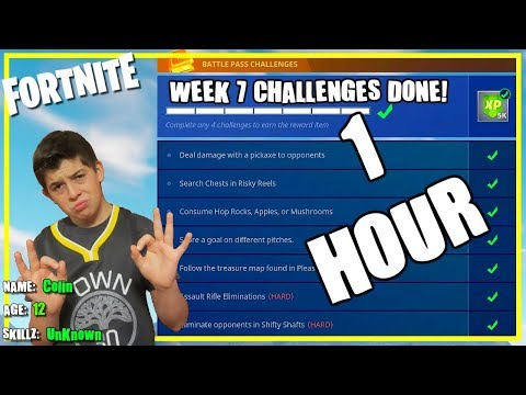 Week 7 Challenges Complete In 1 Hour? OK, Maybe 2