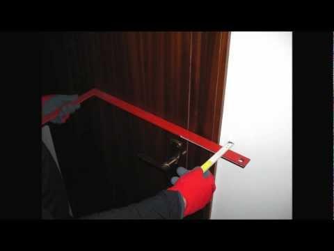 Bloccaporta modello due montaggio youtube - Spranga per porta ...