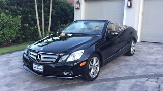 2011 Mercedes-Benz E-Class Cabriolet Videos