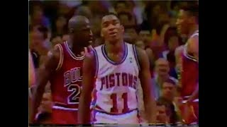 Michael Jordan shuts down Isiah Thomas - 1990 NBA ECF