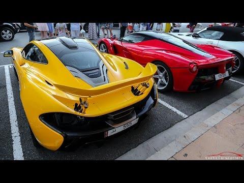 Ferrari LaFerrari, Mclaren P1 & Porsche 918 Spyder Driving In Monaco & Cannes !