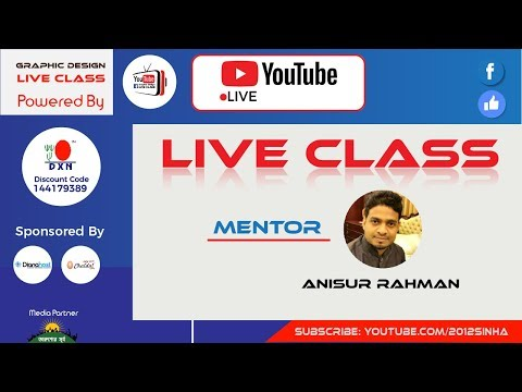 Graphic Design Live Class 35 Web Template Design (3rd & 4th Batch)