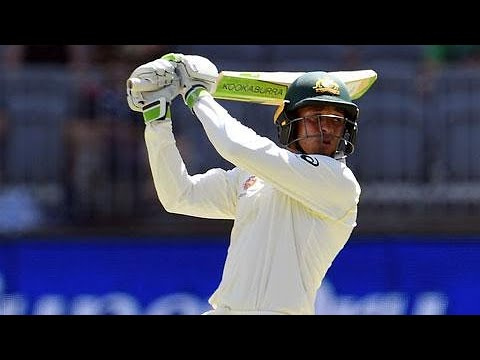 Khawaja happy with Aussies' position