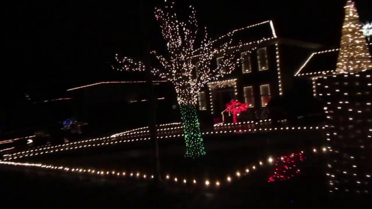 Greystone Court Christmas Lights