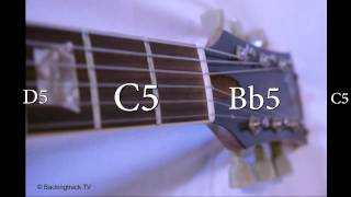 Scale Training Backing Track in Bb-Major / G-Minor Level 3