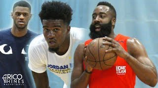 James Harden WORKOUT With Rico Hines - Jordan Bell, Billy Preston, Bobby Brown, Darius Bazely, Pooh