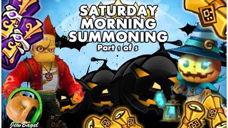 SUMMONERS WAR : Saturday Morning Summons - 250+ Mystical & Legendary Scrolls - (10/17 part 1)