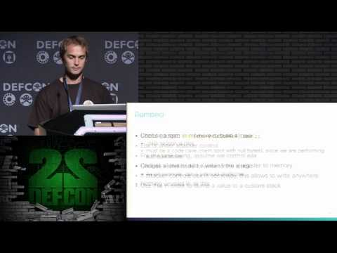DEF CON 22 - Alexandre Moneger - Generating ROP payloads from numbers