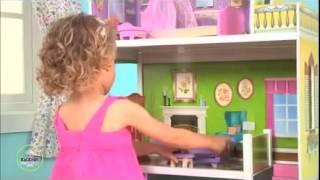 видео Кукольный домик KidKraft Магнолия