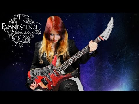EVANESCENCE - Bring Me To Life [GUITAR COVER] | Jassy J