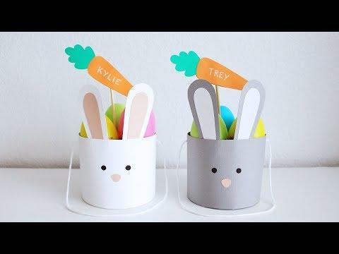DIY Paper Easter Basket