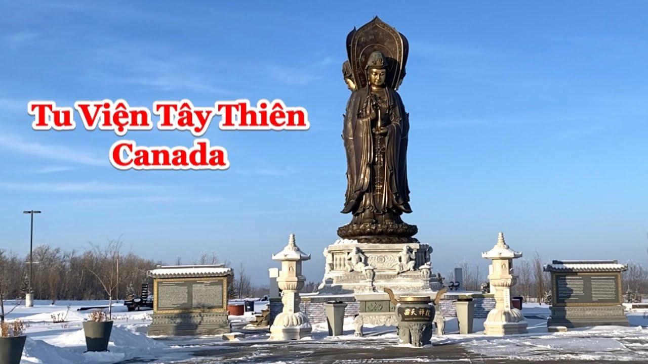 [Tập 2] Quan cảnh  bên ngoài Tu Viện Tây Thiên vào mùa đông ở Canada| Tu Viện Tây Thiên Canada 2021