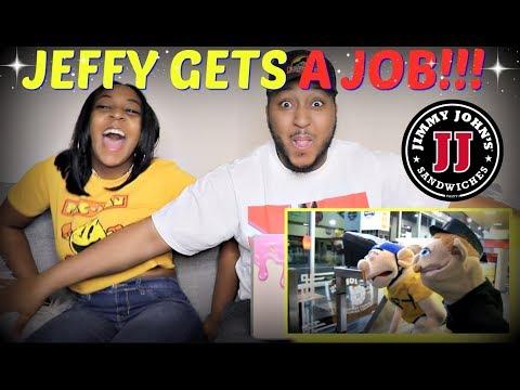 """SML Movie: """"Jeffy Gets a Job!"""" REACTION!!"""