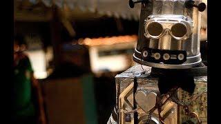 Robot perdido en Vía