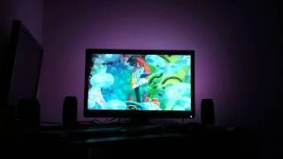 Homemade Ambient Lighting Device - Ponyo Test