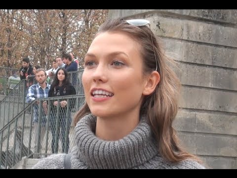 Fashion Week Paris 2013-2014   KARLIE KLOSS  N2