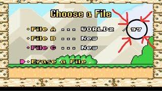 Super Mario Advance 2: Super Mario World - 97th Exit Using Overworld Teleportation Glitch
