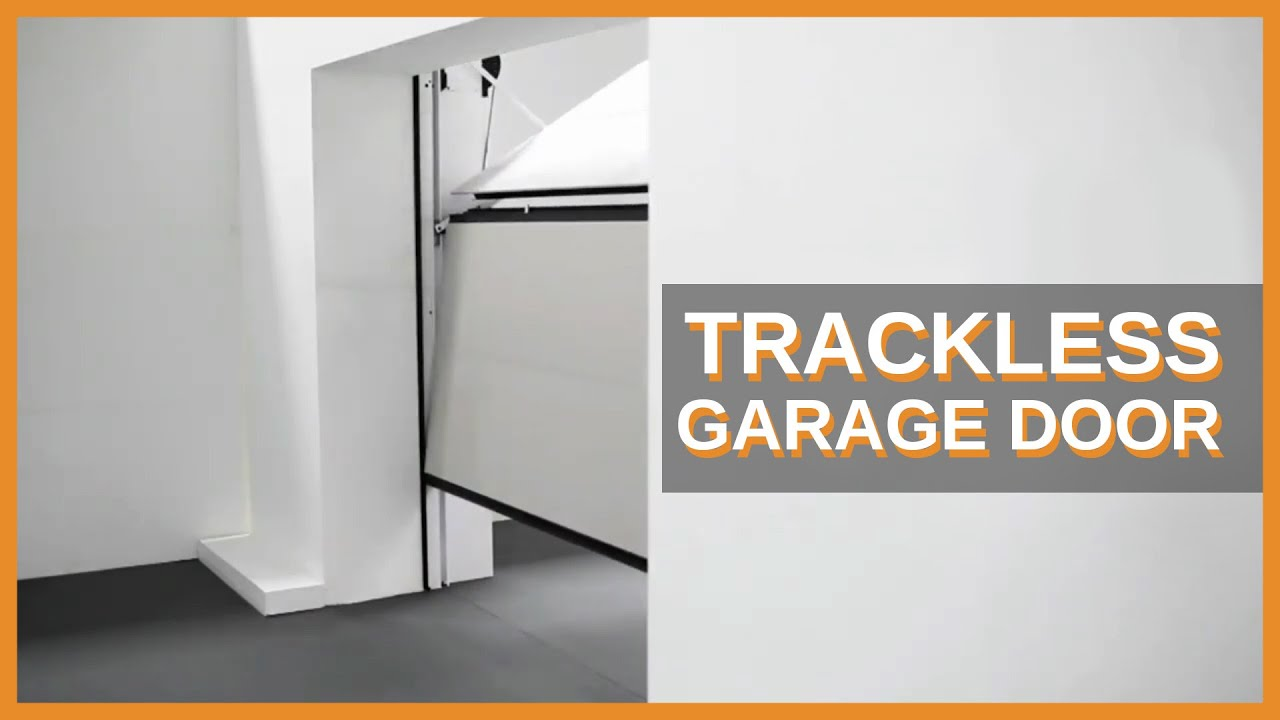 The Securlap Overlap Trackless Sectional Garage Door  YouTube