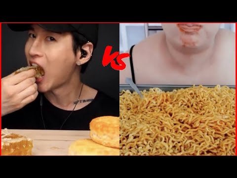 Pink Asmr Vs Zach Choi Youtube (fire noodles + mochi) let me know who you think wins. pink asmr vs zach choi youtube