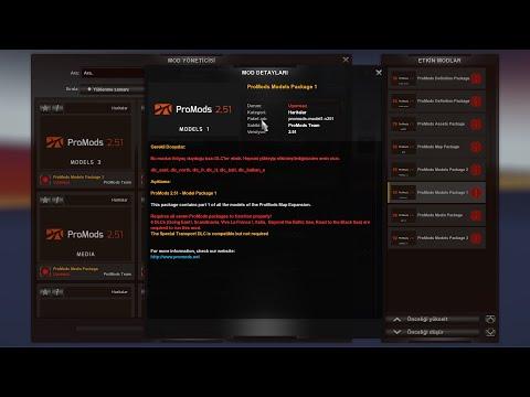 Euro Truck Simulator 2 Yeni Sürüm Promods 2.51 Nasıl İndirilir, Nasıl Kurulur?  Tamm Detayli Anatma