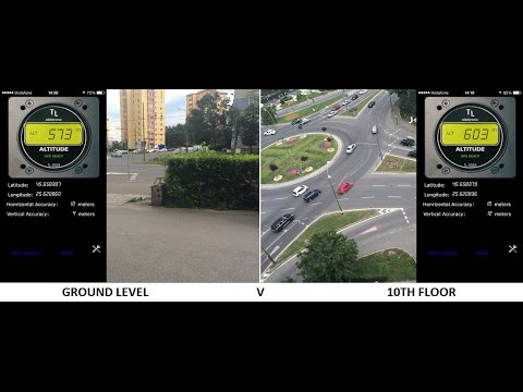 iPhone Altimeter Accuracy Test