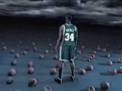 Paul Pierce - Spalding Neverflat Commercial