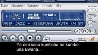 Vijana Jazz Band - Niliruka Ukuta(with lyrics)