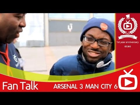 Arsenal 3 Man City 6 - Today Was A Freak Result