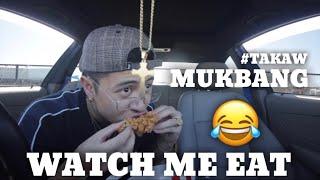 MY FIRST MUKBANG VIDEO???