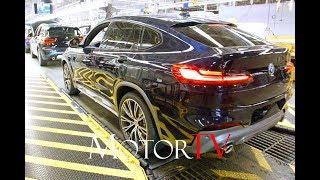CAR FACTORY : 2019 BMW X4 (G02) PRODUCTION l BMW SPARTANBURG PLANT (US)
