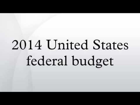2014 United States federal budget