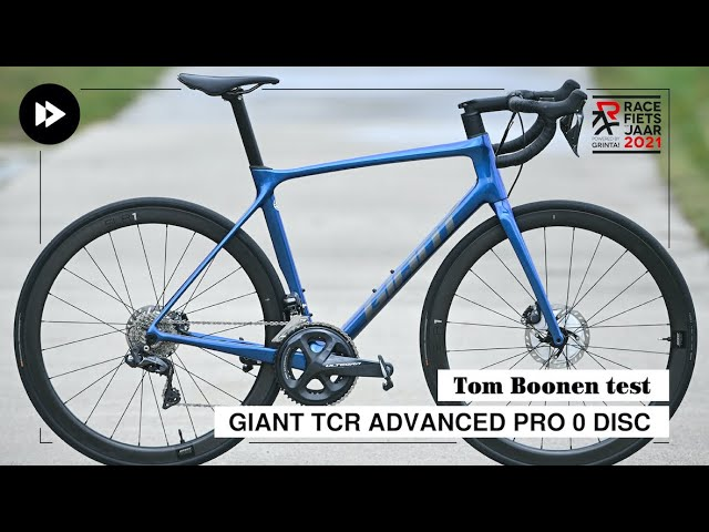 Tom Boonen test Giant TCR Advanced Pro 0 Disc